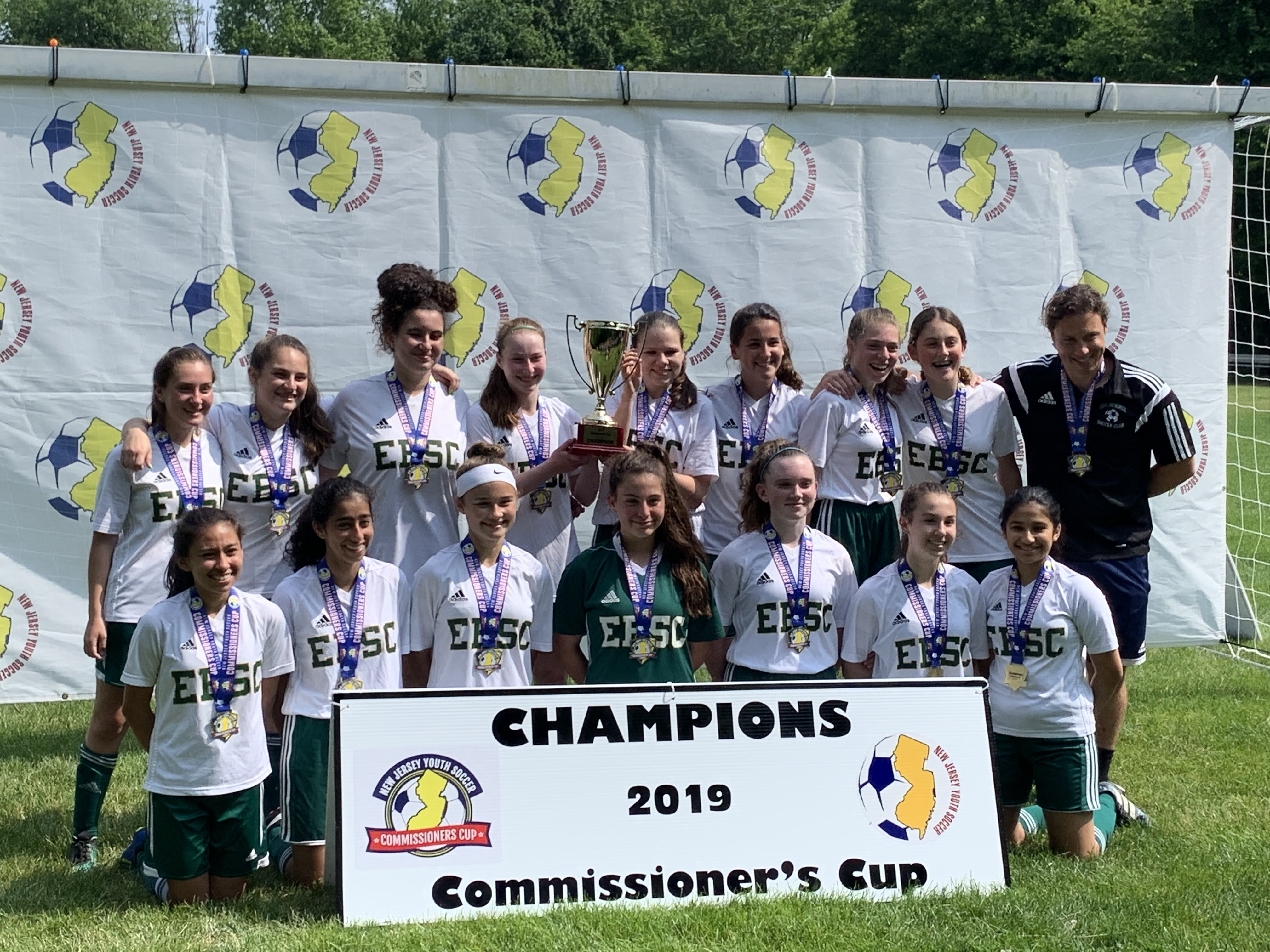 Congratulations to Coach Matt and the U15G Breakers Team