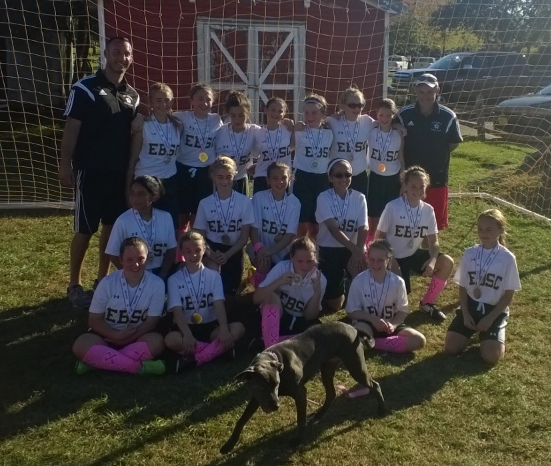 Congratulations EBSC Strikers FC U12 Girls Champions Wall Fall Classic