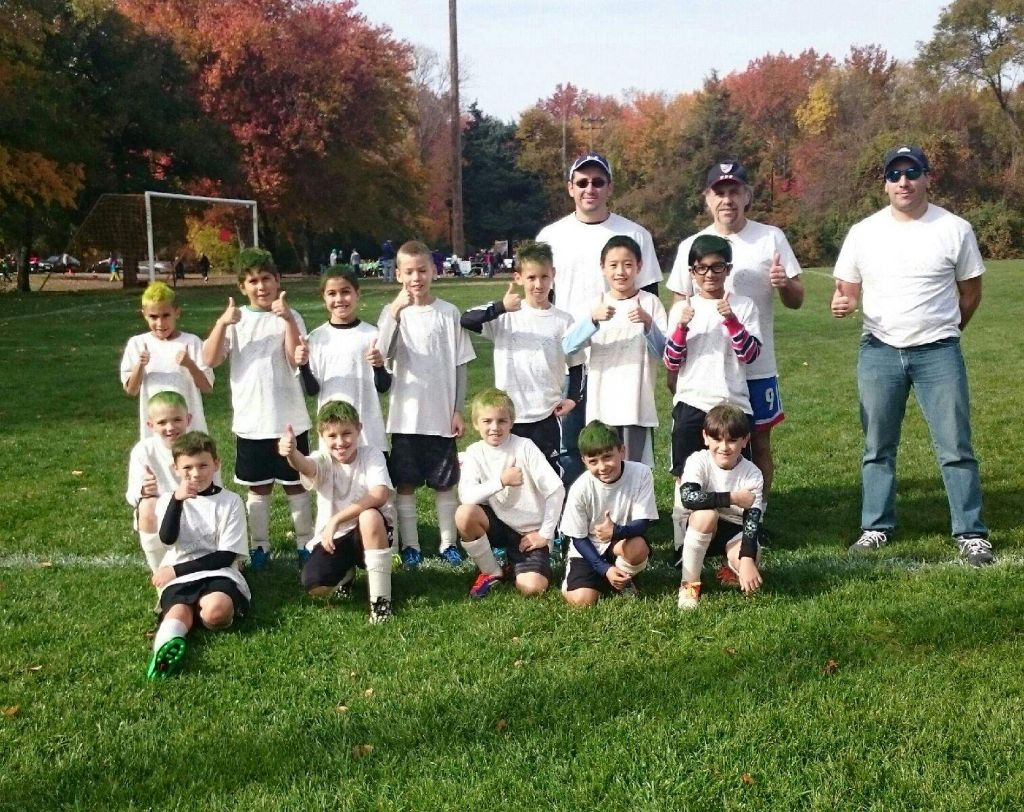 U9-10 Boys Rec Team First Place in Manalapan Fun Fest