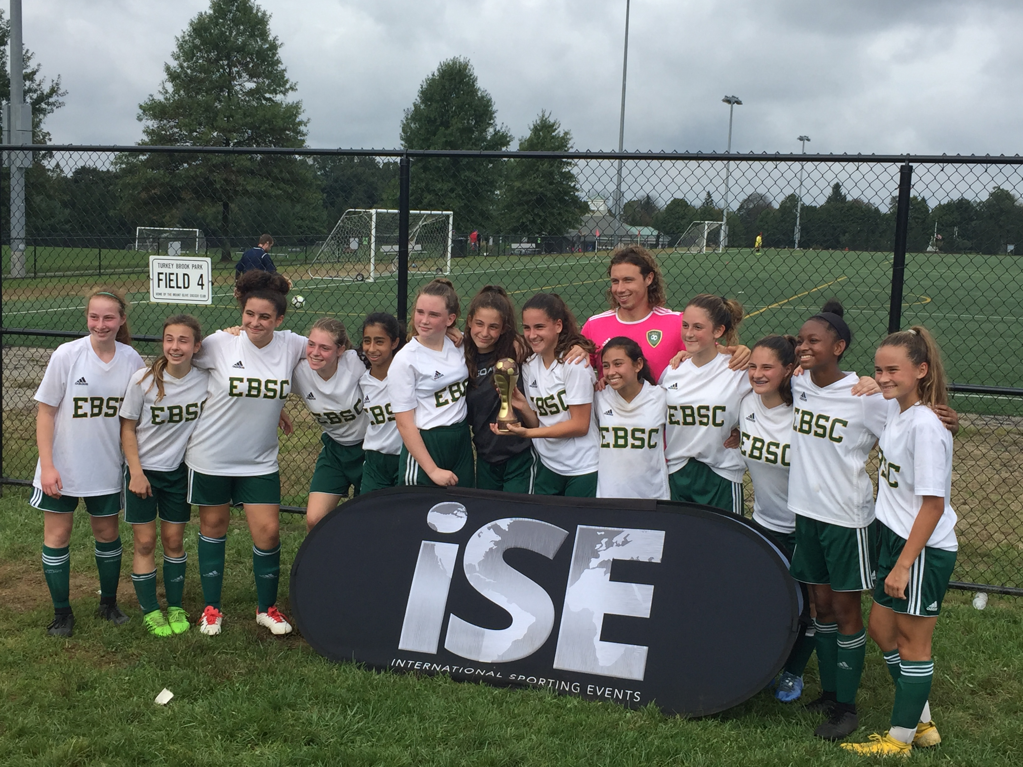 2004G Breakers placed first in the U15 brackets at the ISP Columbus Cup
