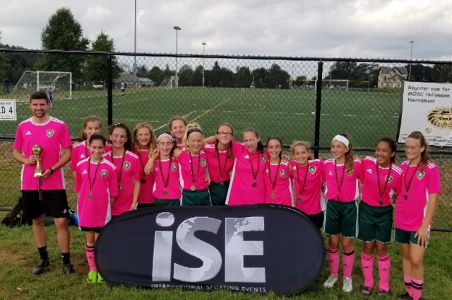 2006G Crush placed first in the U13 brackets at the ISP Columbus Cup